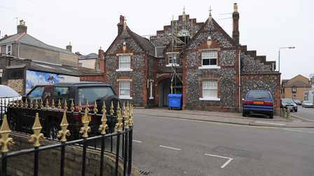 York Road Drill Hall in Great Yarmouth. Photo: James Bass