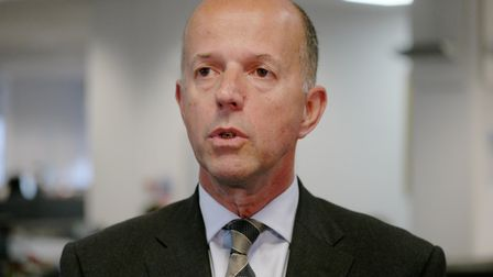 Michael Scott, chief executive of the Norfolk and Suffolk Foundation Trust. Photo : Steve Adams