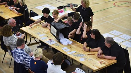General Election 2017. North Norfolk count. Picture : ANTONY KELLY