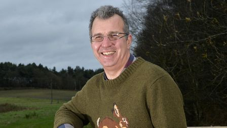 Tim Papworth is the chair of the Felmingham Parish Council.Picture by Adam Fradgley