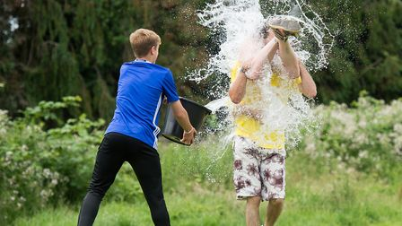 Scenes from the Norfolk Wife Carrying competiton held at The Downham Games 2017. Picture. Matthew Us