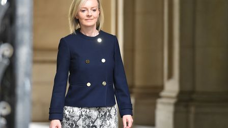 Justice Secretary Liz Truss arrives at Downing Street in London. Picture: David Mirzoeff/PA Wire