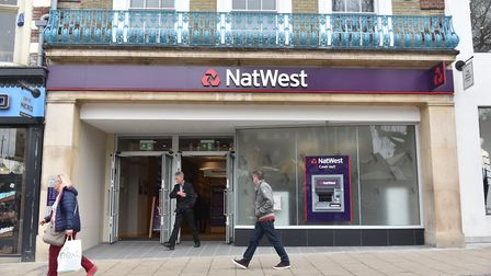 NatWest's new branch in Gentleman's Walk, where the memorial would be relocated to. Pic: Sonya Dunca