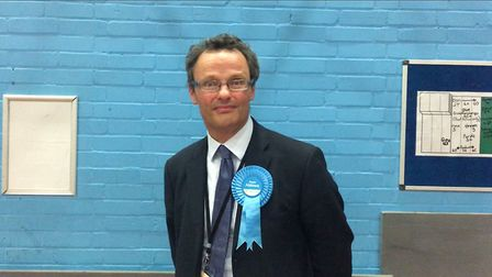 Conservative MP for Waveney Peter Aldous. Picture: Amy Smith.