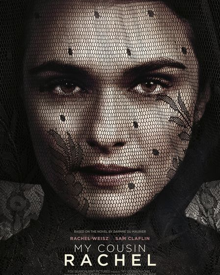 The lucky winner will recieved this large portrait canvas print of the My Cousin Rachel film artwork