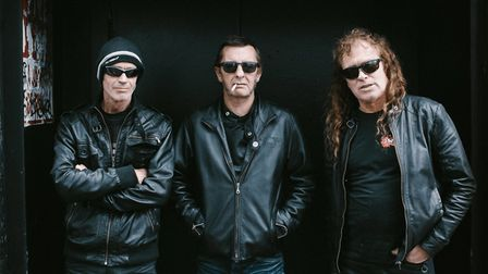 Phil Rudd Band swaps stadiums with AC/DC for the Waterfront with his own band. Picture: Submitted