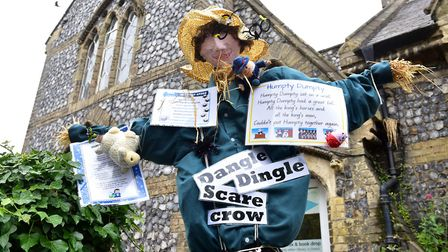 A scarecrow from last year's festival in Loddon. Picture: Nick Butcher.
