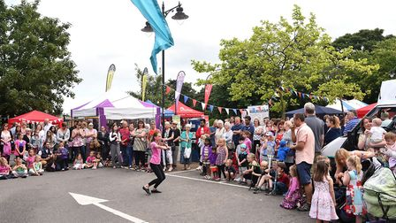 Entertainment on Church Plain after last year's Loddon and Chedgrave carnival. Picture: Archant libr