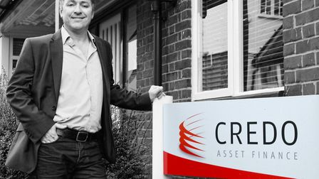 Simon Gray, managing director of Credo Asset Finance. Picture: Archant library