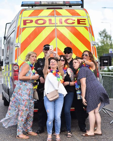 Take That concert at Carrow Road. Picture : ANTONY KELLY