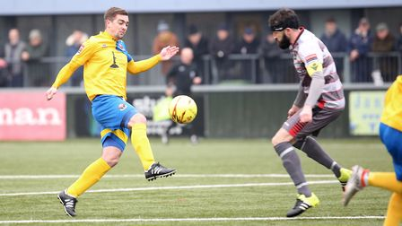 Craig Parker is heading for The Walks after agreeing a deal with King's Lynn Town. Picture: Richard