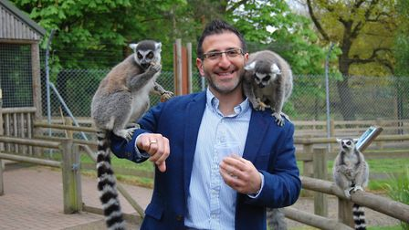 Alex Demetriou. Picture: Courtesy of Zoological Society of East Anglia