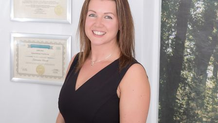 Hypnotherapist Lorraine Grant, who has opened a therapy room on Hurricane Way in Norwich. Picture: J