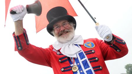 Tony Nelson is pictured during the Sheringham Carnival Parade in 2012. Picture: ANTONY KELLY