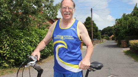 Robin Rush, of Aylsham, who has been made an MBE in recognition of his charity work. Photo: KAREN BE