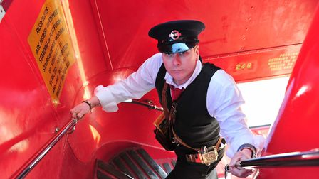 The East Anglian Transport Museum's special father's day opening includes the chance to try your han