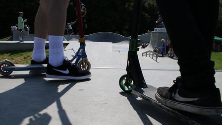 Cromer skatepark hosted a fun day to celebrate its second birthday. Picture: Ally McGilvray