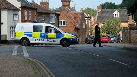 Emergency services were called to Church Street shortly after 2pm on Saturday (Picture: Mark Snellin