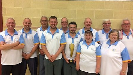 Bob Carter are the Challenge Cup winners after beating Wymondham. Picture: Chris Mann