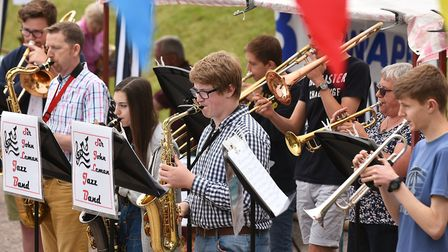The Sir John Leman Jazz Band performing at last year's Beccles Hospital Fete. Picture: Archant.
