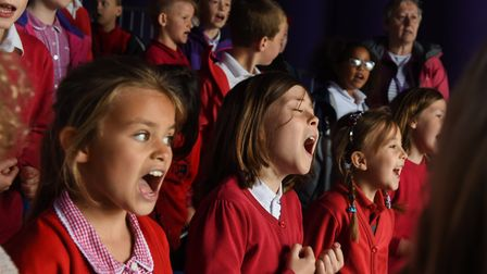 Schools across Norfolk took part in Together to the Workhouse door, a choral project at Gressenhall.