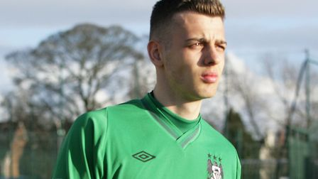 Could Angus Gunn be set for a Norwich City return? Picture: Manchester City