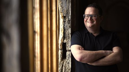 Chris Gribble, chief executive of Writers' Centre Norwich. Picture: ANTONY KELLY