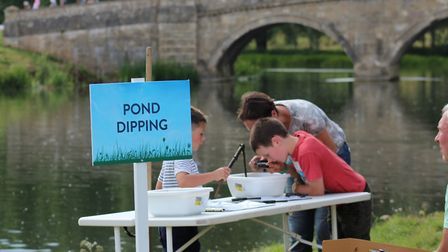 Children can enjoy fishing and pond dipping at the Holkham Country Fair. Picture: Media Managers.