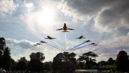 The Red Arrows are due to make an appearance at the Holkham Country Fair. Picture: Media Managers.