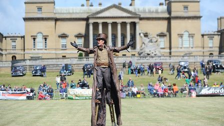 Scenes from a previous Holkham Country Fair. Picture: Ian Burt