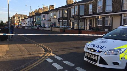 Police are appealing for information after the stabbing in Nelson Road Central, Great Yarmouth. Phot