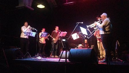 Norwich band The Brass Monkeys will perform at Wymondham's Market Place as part of the Wymondham Mus