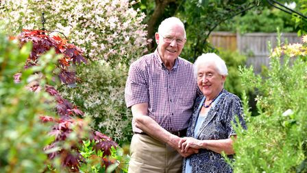 Diamond wedding couple June and Ronald Gower from Brooke are set to celebrate 60 years of marriage.