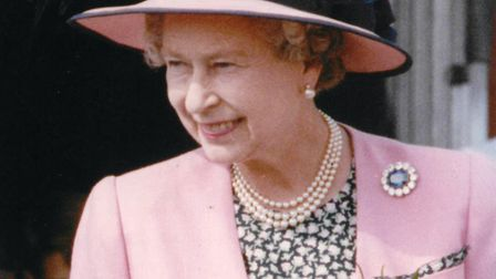 The Queen opens Lynnsport, in 1991. Picture: Archant library