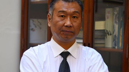 Dr Alex Qiao, who runs his acupuncturist business in Griffin Court, Wymondham, will be volunteering