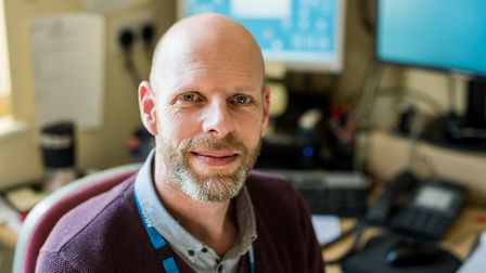 David Wain, NSFT complaints officer and Refugees at Home volunteer. Photo: NSFT