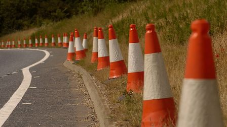 Roadworks are planned. Picture: SIMON FINLAY