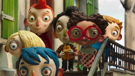 Claude Barras' stop-motion animated fable My Life As A Courgette. Picture: Thunderbird Releasing