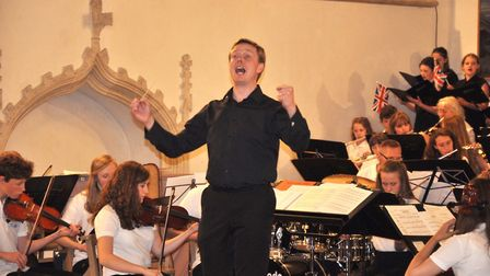 Orchestrate at Great Yarmouth Minster. Photo: Great Yarmouth Arts Festival