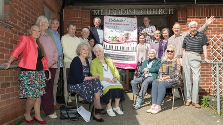 The Gilbert and Sullivan Singers are staging a concert on June 3 to mark the 60th birthday of the Ma