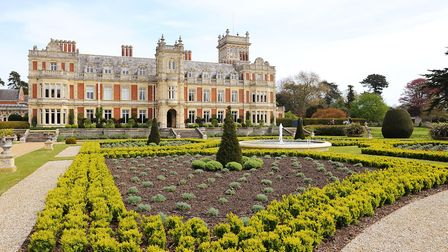 Somerleyton Hall and gardens in North Suffolk. Picture: James Bass