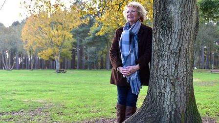 Friends of Thetford Forest chairman Anne Mason. Picture: SONYA DUNCAN