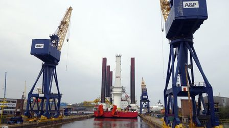A&P Group has unveiled a partnership with Peel Ports Great Yarmouth. Picture: Peel Ports.