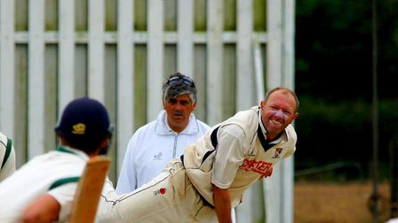 Chris Brown took five wickets as Horsford beat Swardeston. Picture: Tim Ferley