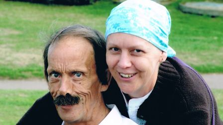 Kim Linstead, from Hellesdon, is getting ready for a charity trek in Oman. She is pictured here with