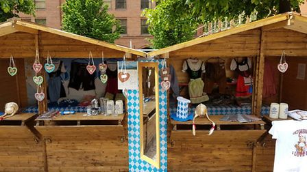 There will be free entry to the market stalls throughout the festival. Picture: London Oktoberfest L