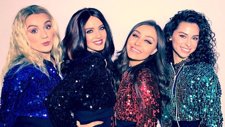Tribute band The Little Mix Experience are performing in King's Lynn. Picture: Tom Vaughan