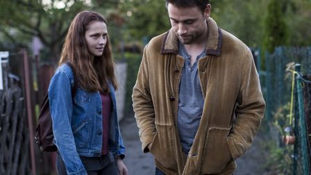 Teresa Palmer as Clare and Max Riemelt as Andi in Berlin Syndrome. Picture: Curzon Artificial Eye
