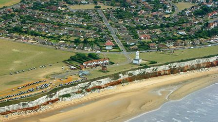 Hunstanton from the air today. Picture: Mike Page