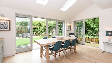Dining area in Pippin House.